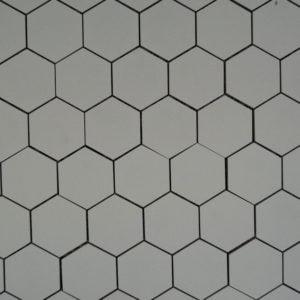 Ecoceramic Alaska hexagon mosaiikki