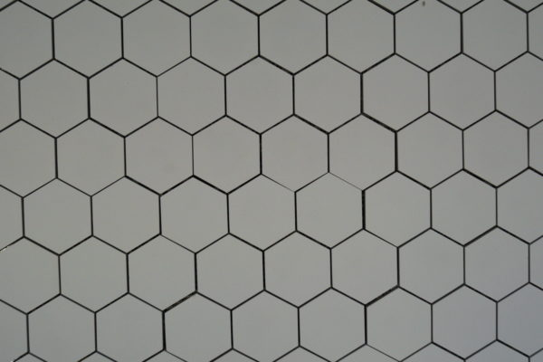 Ecoceramic Alaska hexagon mosaiikki